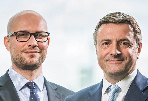 Mark_Nichols and Mark_Heslop, Fund Manager, European Growth 4 5